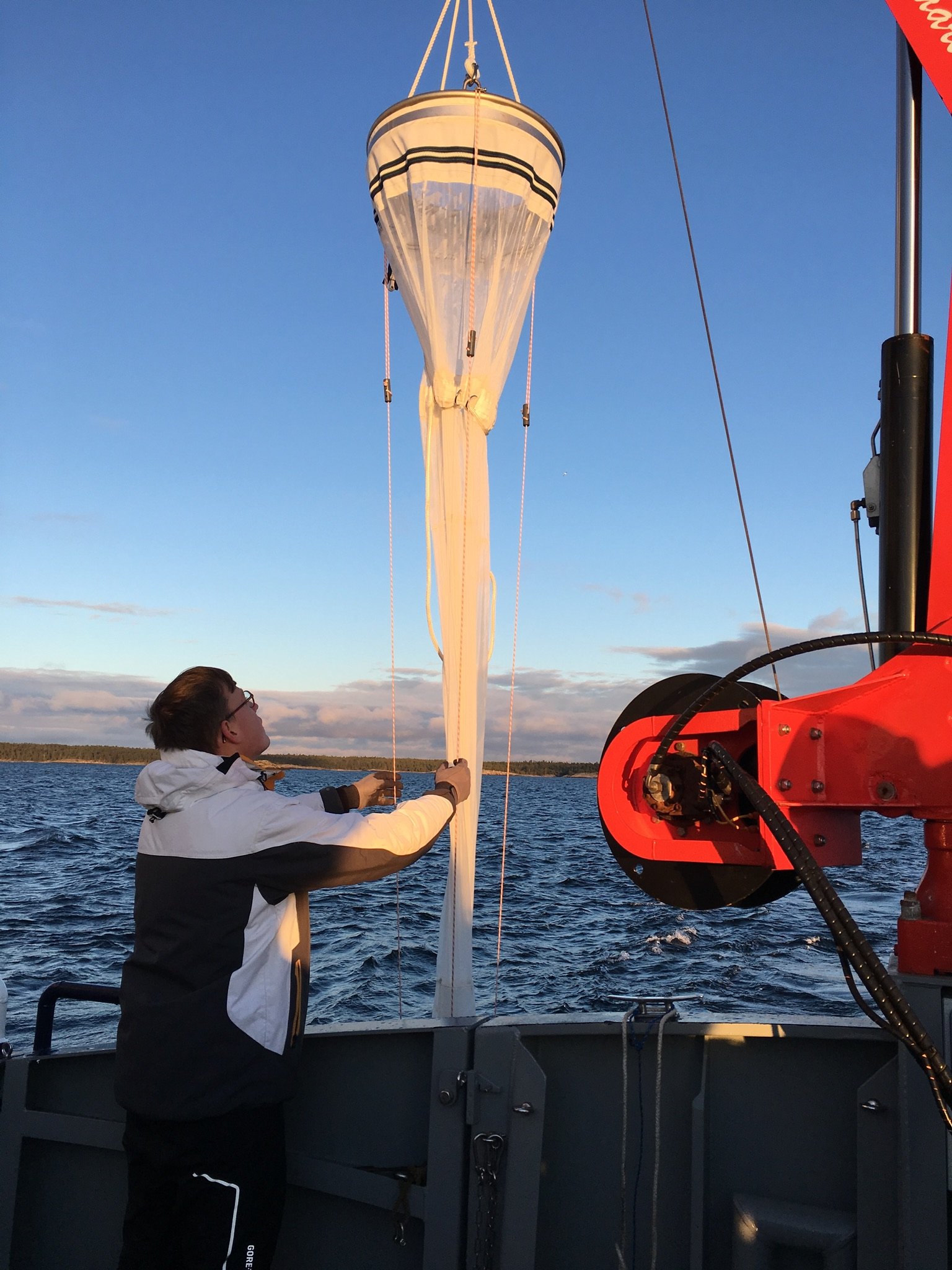 Zooplankton sampling
